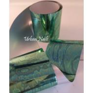 Urban Folie 31 groen gemarmerd