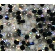 Acryl caviar black diamond