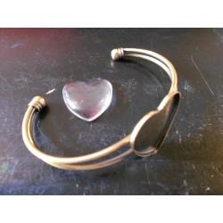 Armband base hartje