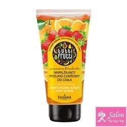 ORANGE & STRAWBERRY Body scrub 200 ml