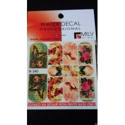 Waterdecal  n340