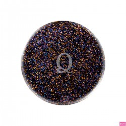 acryl color glitter black 5gr