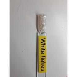 Quida acryl 5 gramwhite flakes