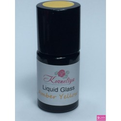 korneliya liquidglass Amber yellow