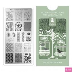 Moyra Mini Stamping Plate 110 My Secret