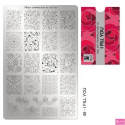 Moyra Stamping Plate 45 I Fill You