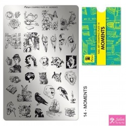 Moyra Stamping Plate 14 Moments