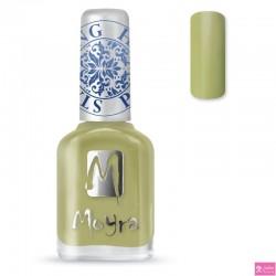 Moyra Stamping Nail Polish sp15 light green