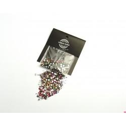 Urban Nails Mix Media Rhinestone pink green