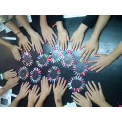 Workshop meidennagelparty.