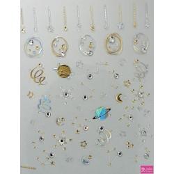 Korneliya 3D Jewels  de Luxe DL7 Galaxy Diamonds