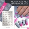 Moyra Stamping Plate 77 Blossometry pre odere week 26 uitgeleverd