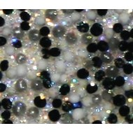 Acryl caviar black diamond