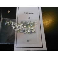 s flower 11 (licht groen)