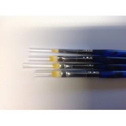 Gelpenselenset 4 blauw