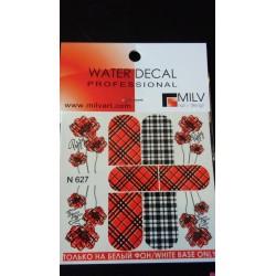 Waterdecal  n627