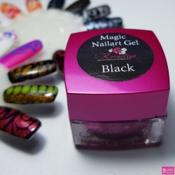 korneliya Magic nailartgel zwart 5ml