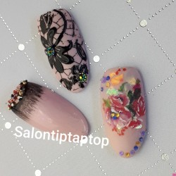 Workshop Mix Nail art.