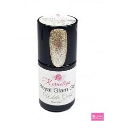 Korneliya Royal Glam Gel White Gold 12 ml