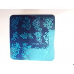 stempelplaat floral bp x43