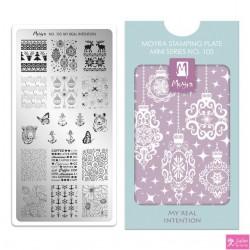 Moyra Mini Stamping Plate 105 My Real