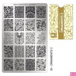 Moyra Stamping Plate 50 Ornaments 3