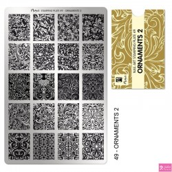 Moyra Stamping Plate 49 Ornaments 2