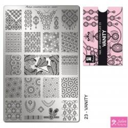 Moyra Stamping Plate 23 Vanity