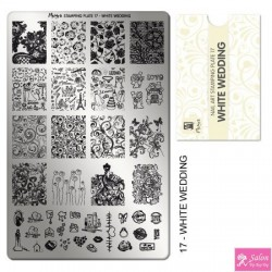 Moyra Stamping Plate 17 White Wedding