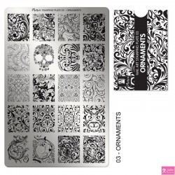Moyra Stamping Plate 03 Ornaments
