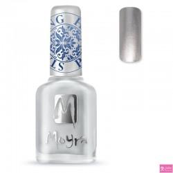 Moyra Stamping Nail Polish sp08 silver