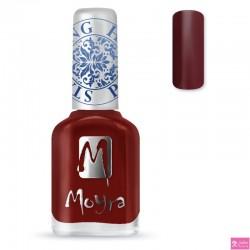 Moyra Stamping Nail Polish sp03 burgundy