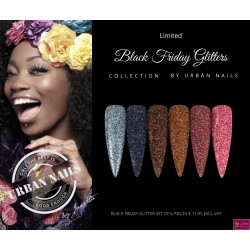 limited Black Friday glitter collection 6 stuks