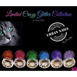 limited crazy glittercollection 6 stuks