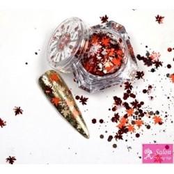 Urban Nails Autumn mix  glitter ornaments